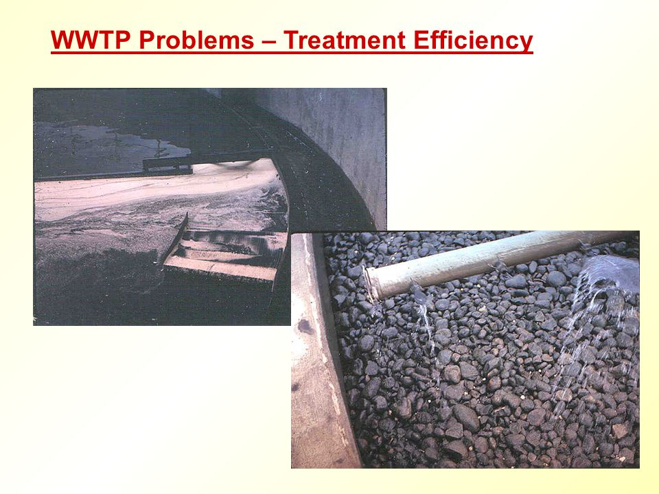 WWTP Problems – Treatment Efficiency