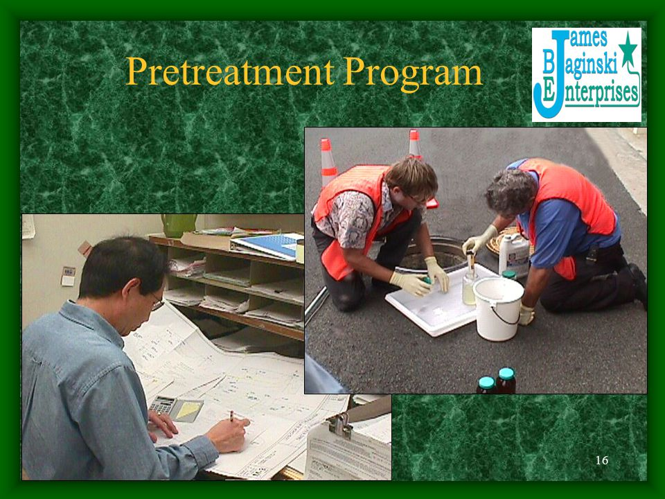 Pretreatment Program