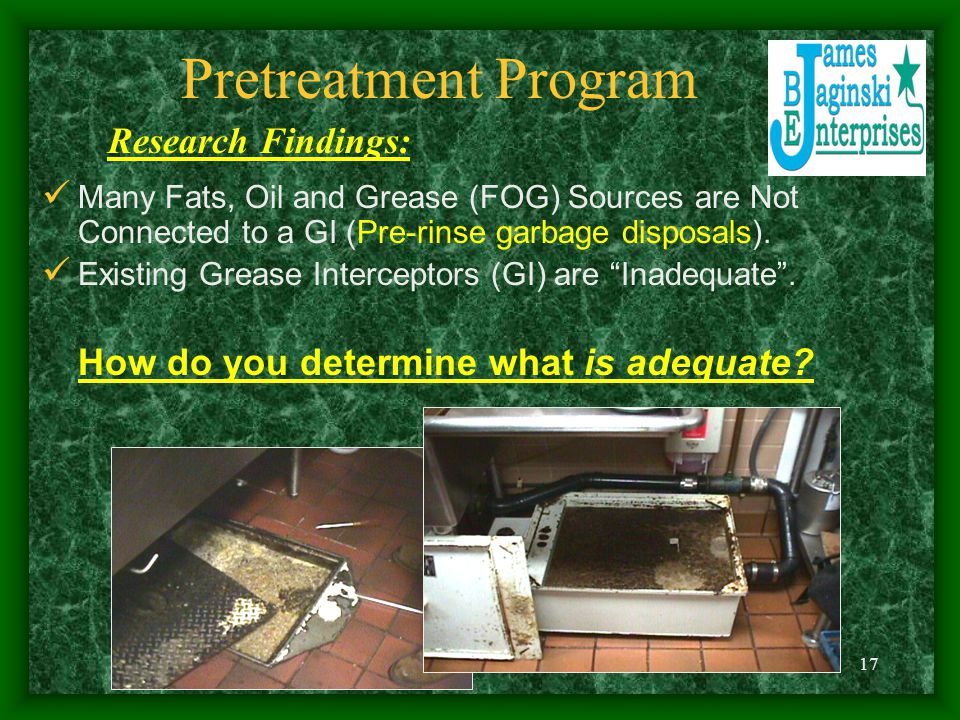 Pretreatment Program Research Findings: