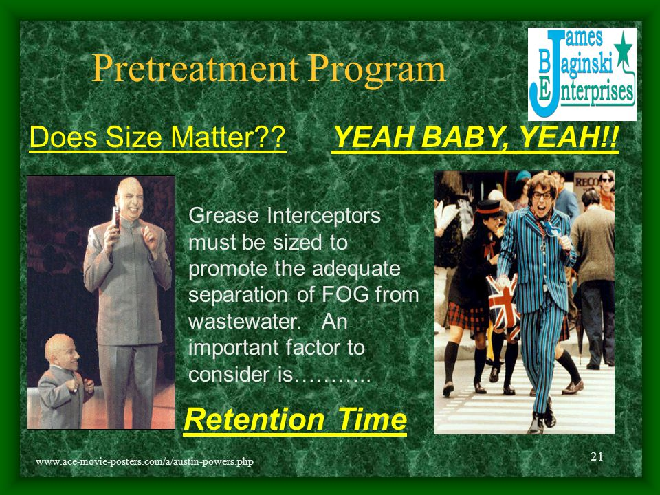 Pretreatment Program Retention Time Does Size Matter