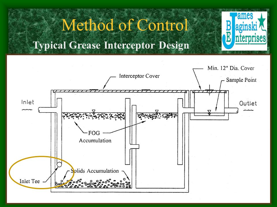Typical Grease Interceptor Design