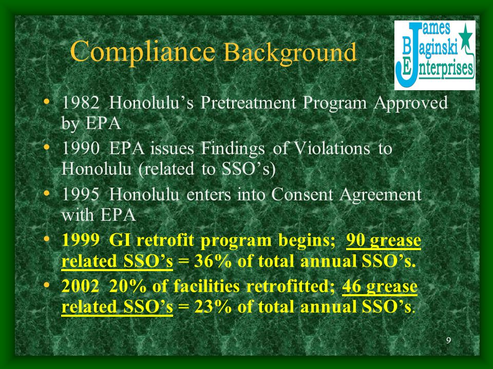 Compliance Background