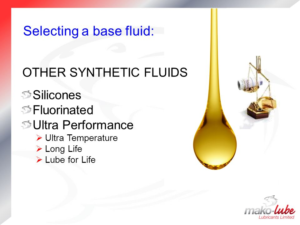 OTHER SYNTHETIC FLUIDS