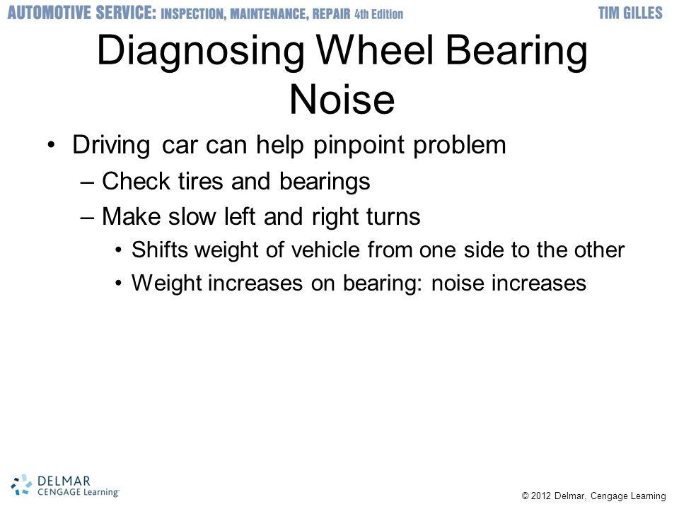 Diagnosing Wheel Bearing Noise