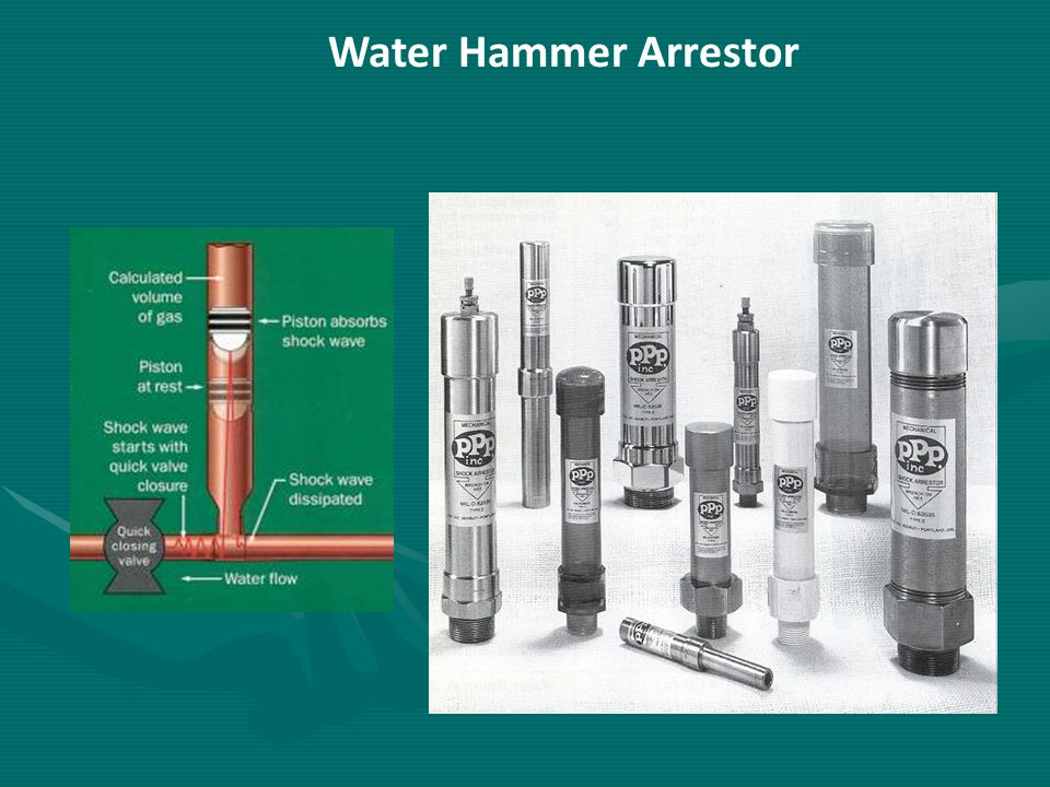 Water Hammer Arrestor 11