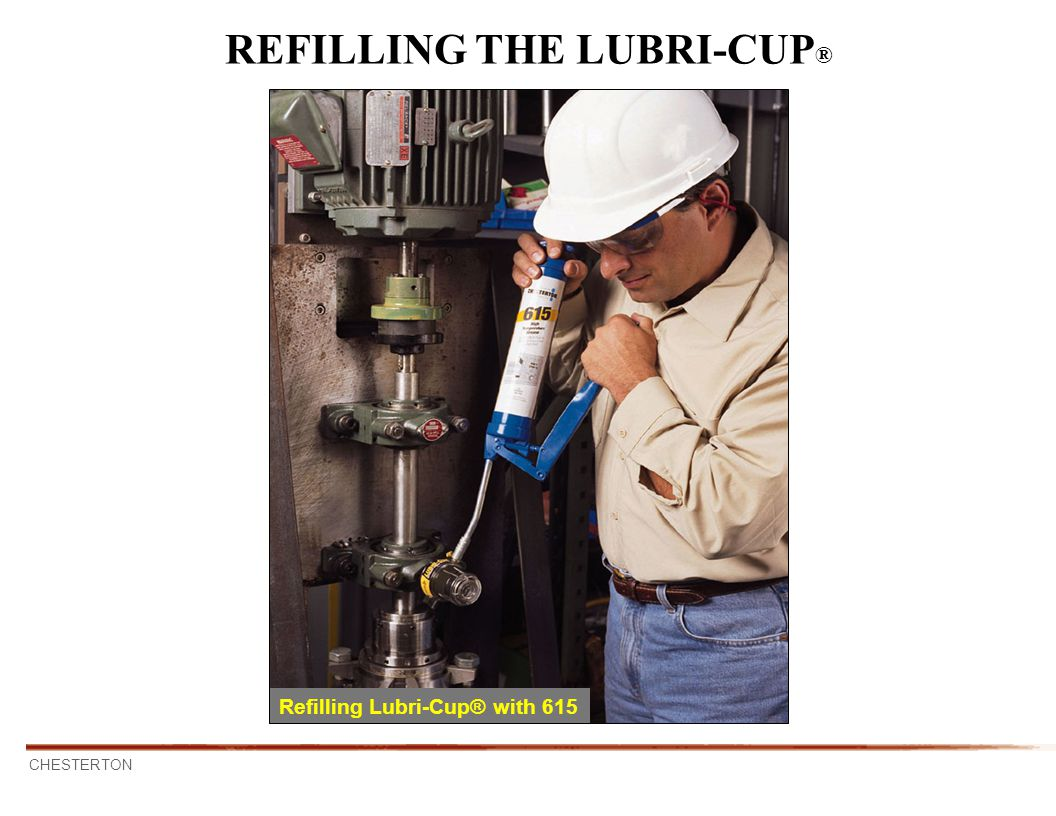 REFILLING THE LUBRI-CUP®