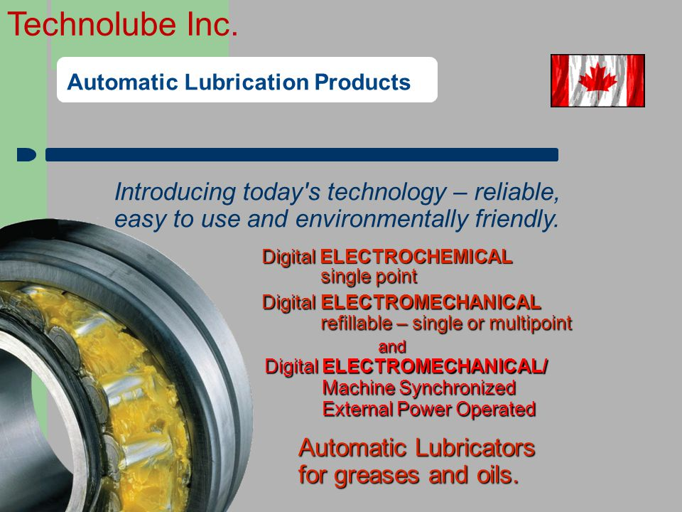Automatic Lubrication Products