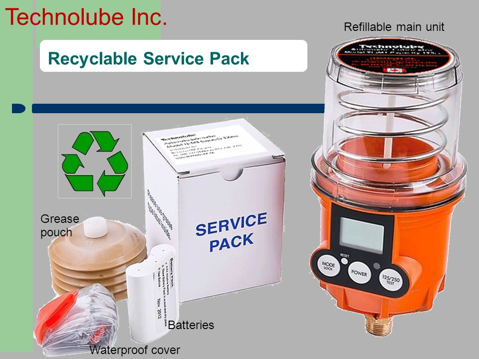 Recyclable Service Pack