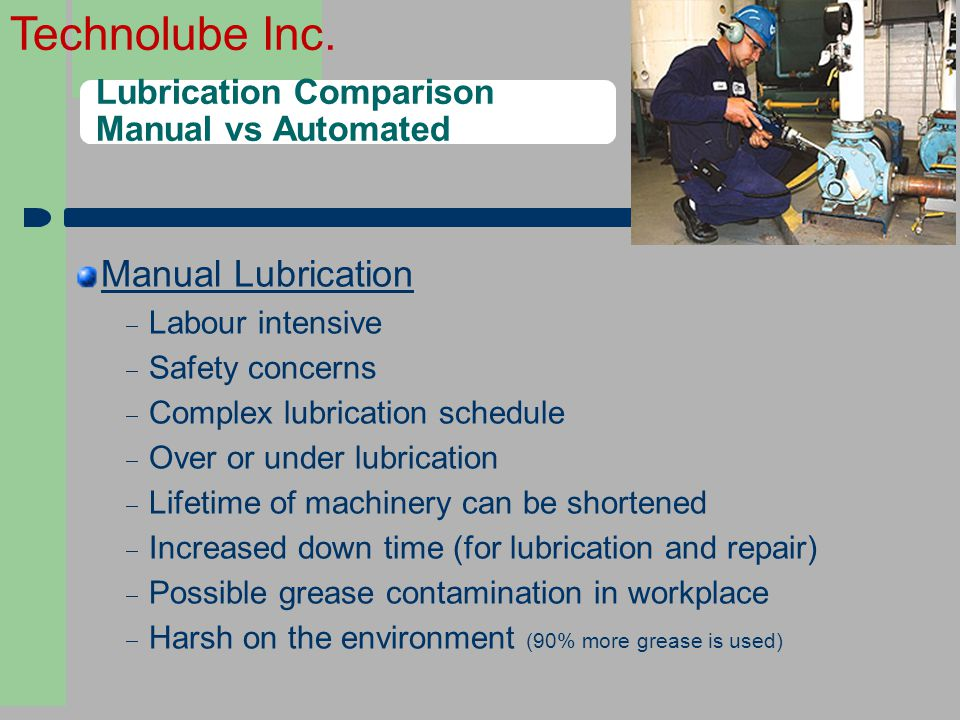 Lubrication Comparison Manual vs Automated