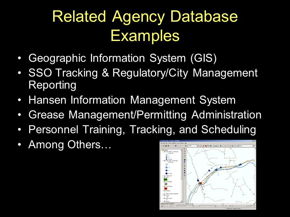 Related Agency Database Examples