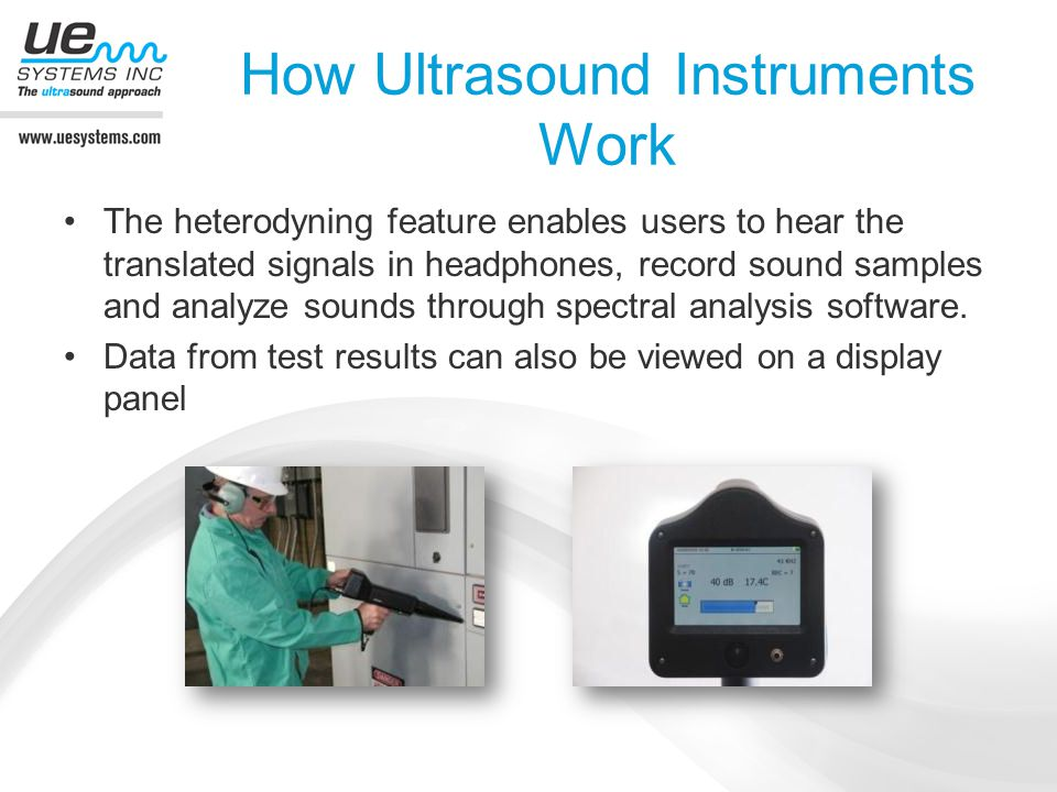 How Ultrasound Instruments Work