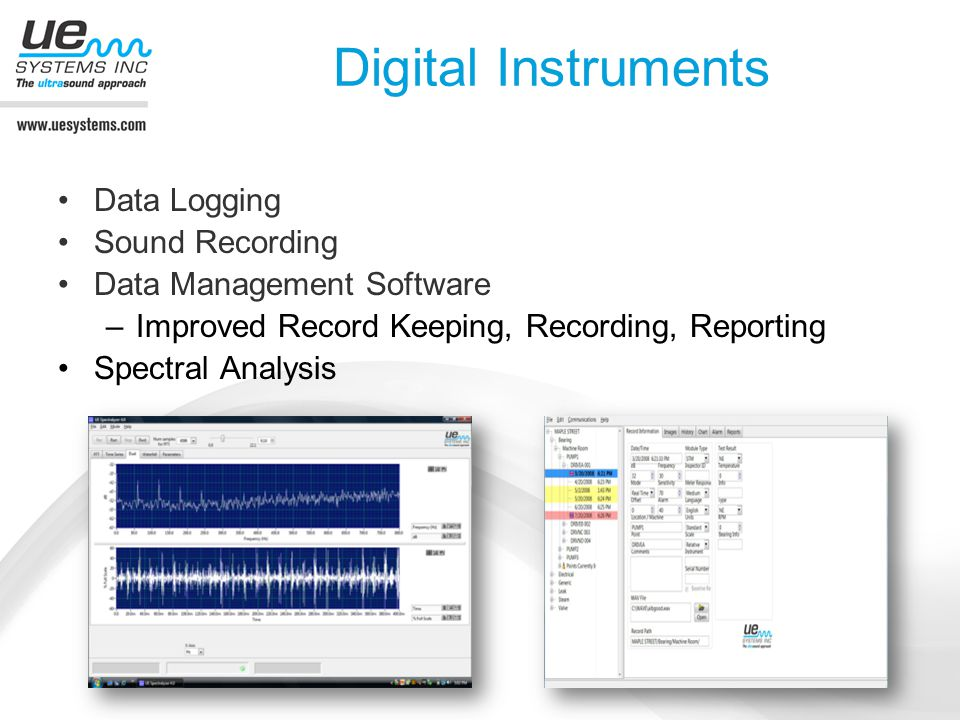 Digital Instruments Data Logging Sound Recording