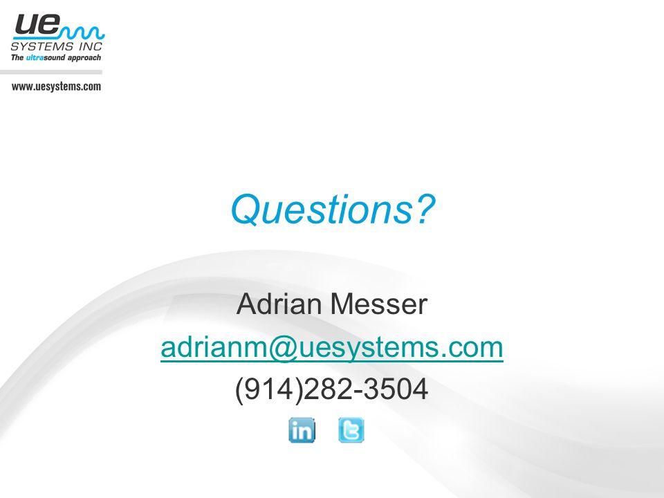 Adrian Messer adrianm@uesystems.com (914)282-3504