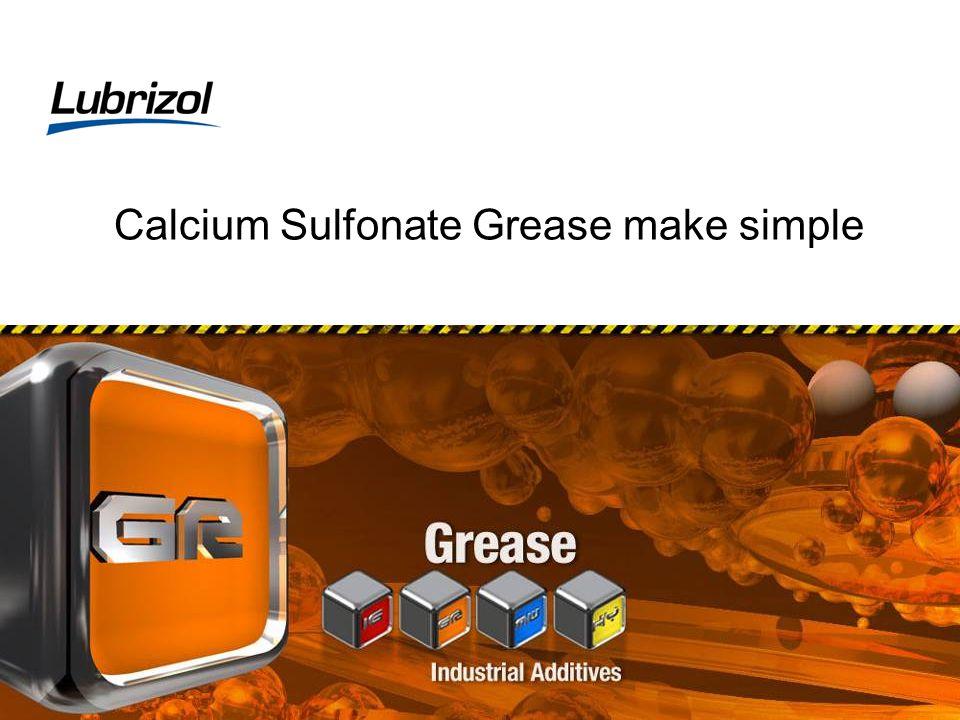 Calcium Sulfonate Grease make simple