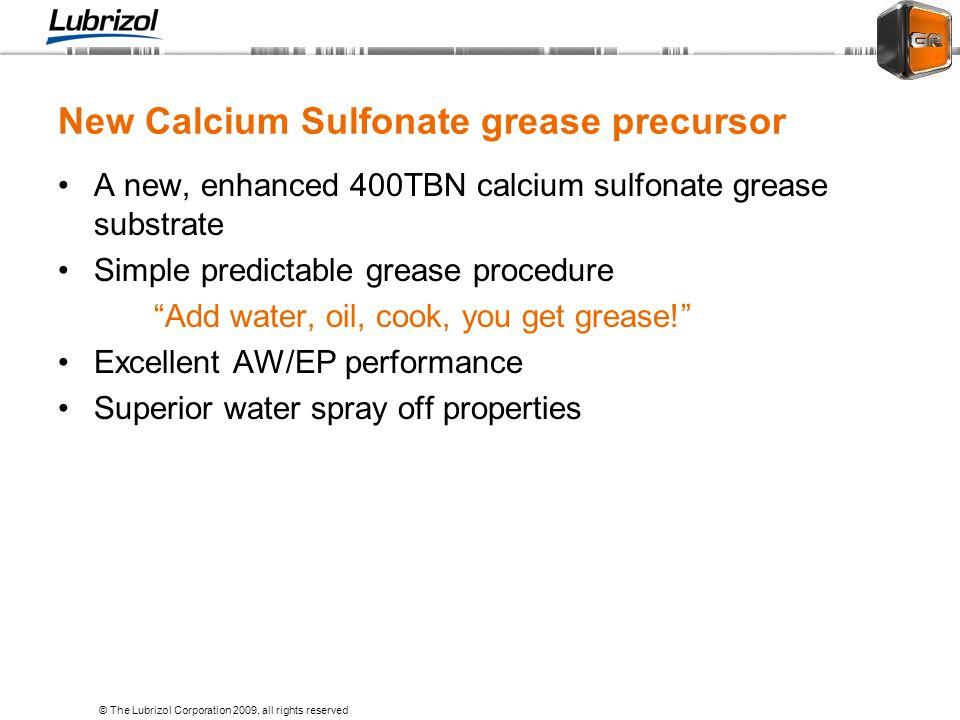 New Calcium Sulfonate grease precursor