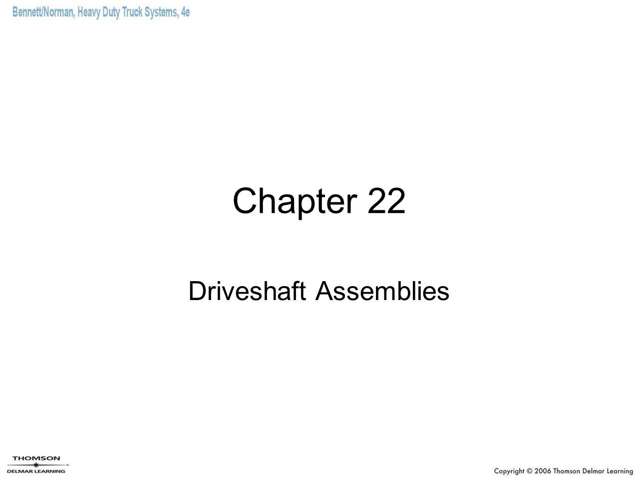 Driveshaft Assemblies