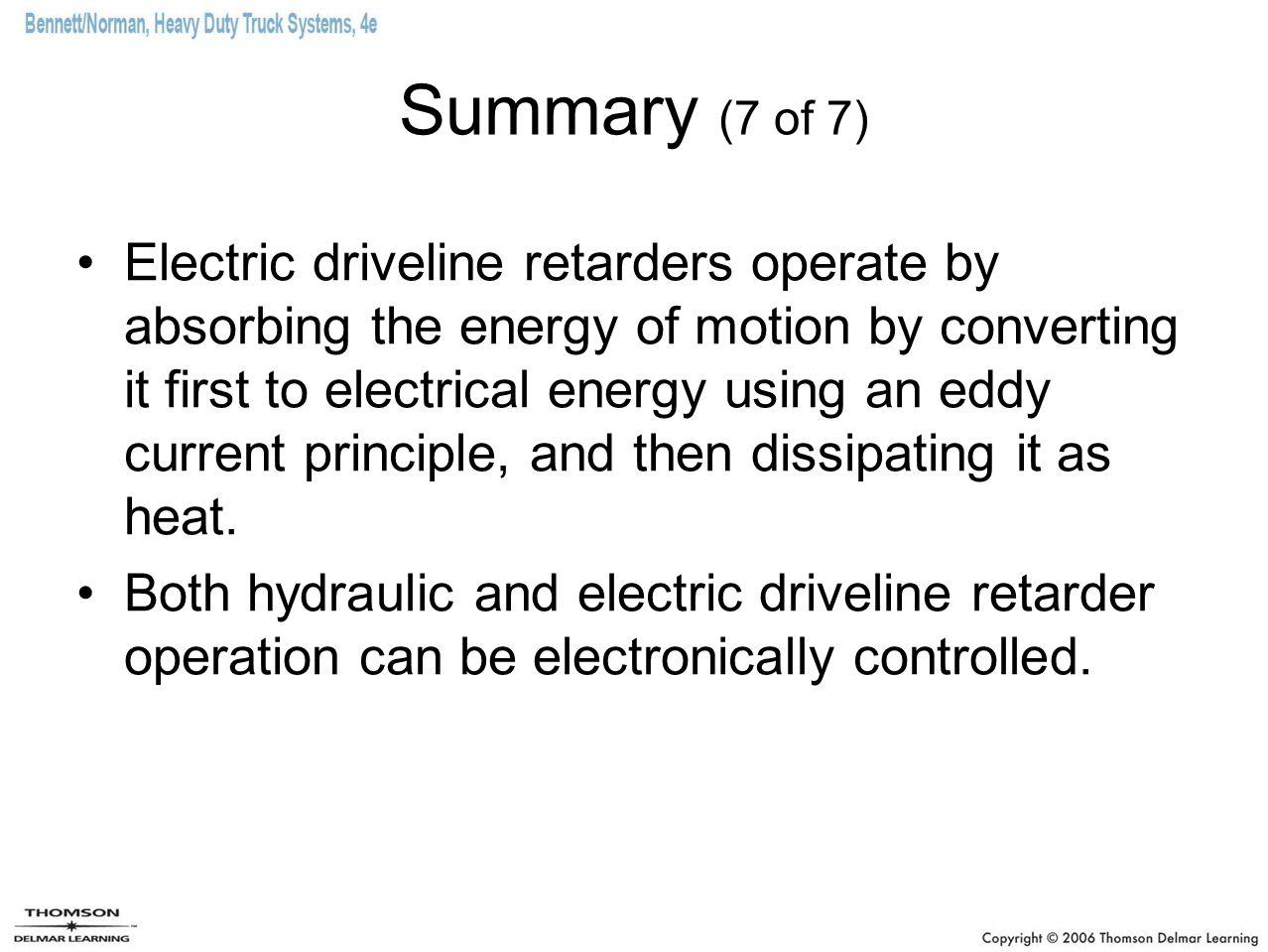 Summary (7 of 7)