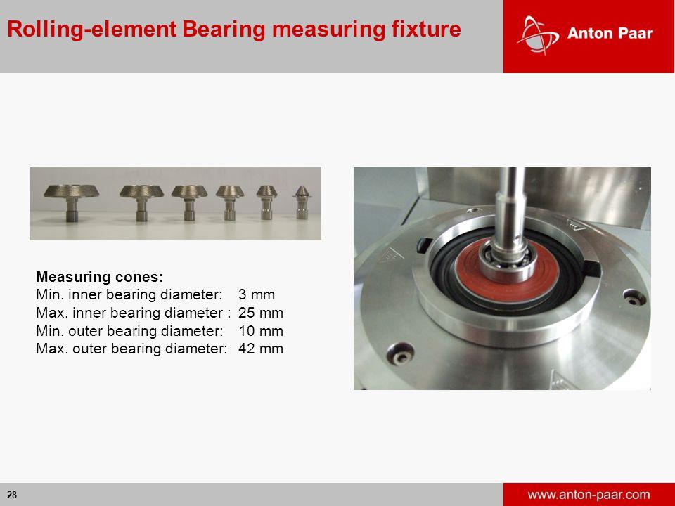 Rolling-element Bearing measuring fixture