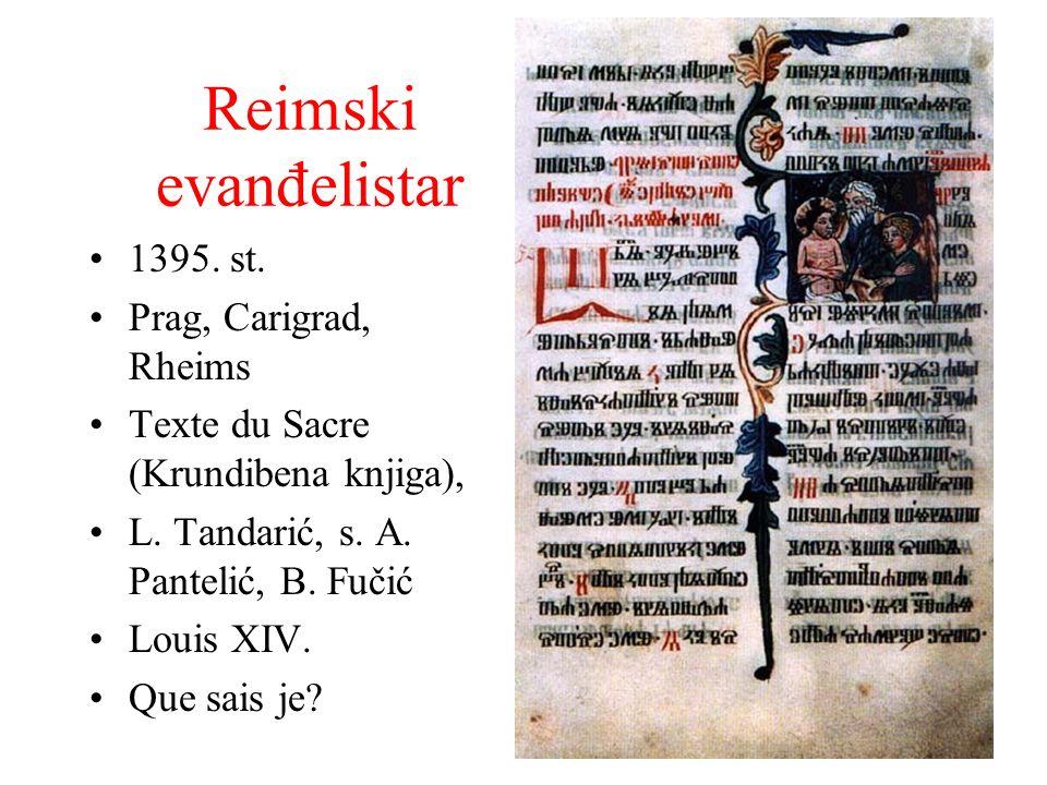 Reimski evanđelistar 1395. st. Prag, Carigrad, Rheims
