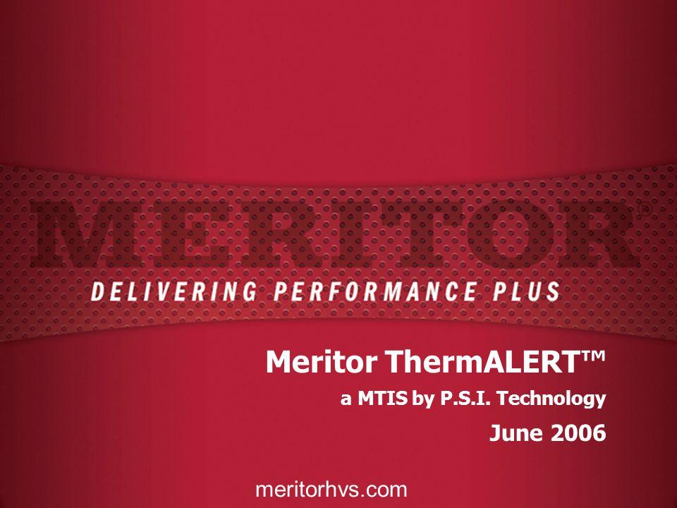 Meritor ThermALERT™ June 2006 meritorhvs.com