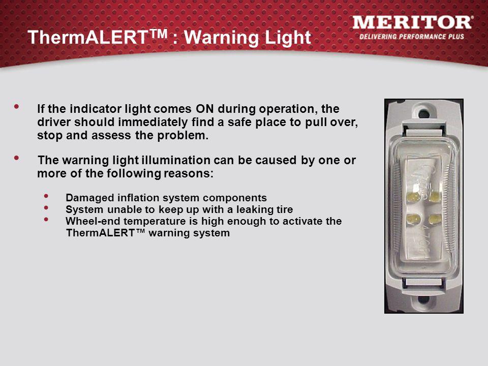 ThermALERTTM : Warning Light