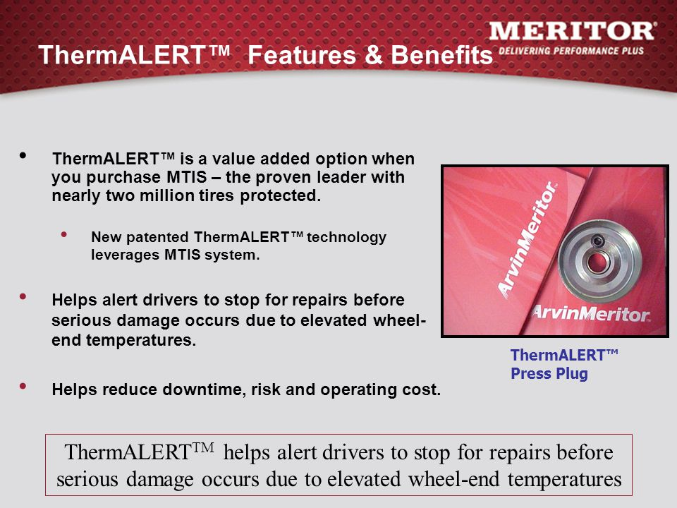 ThermALERT™ Features & Benefits