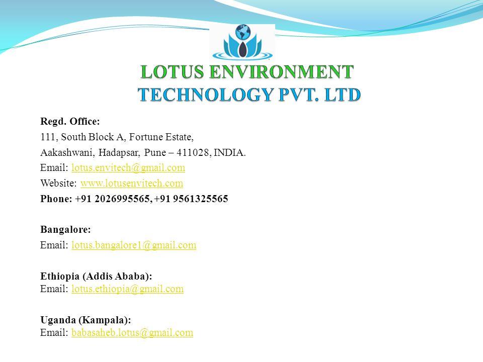 LOTUS ENVIRONMENT TECHNOLOGY PVT. LTD