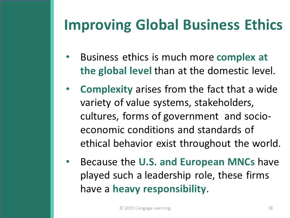 The Critical Role of Ethics and Culture in Business Globalization