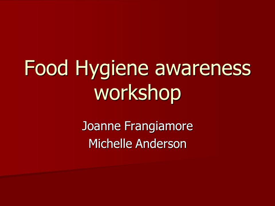 Food Hygiene awareness workshop