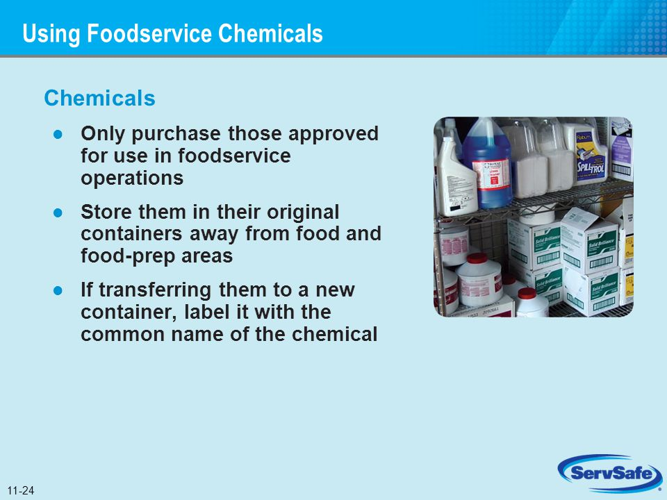 Using Foodservice Chemicals