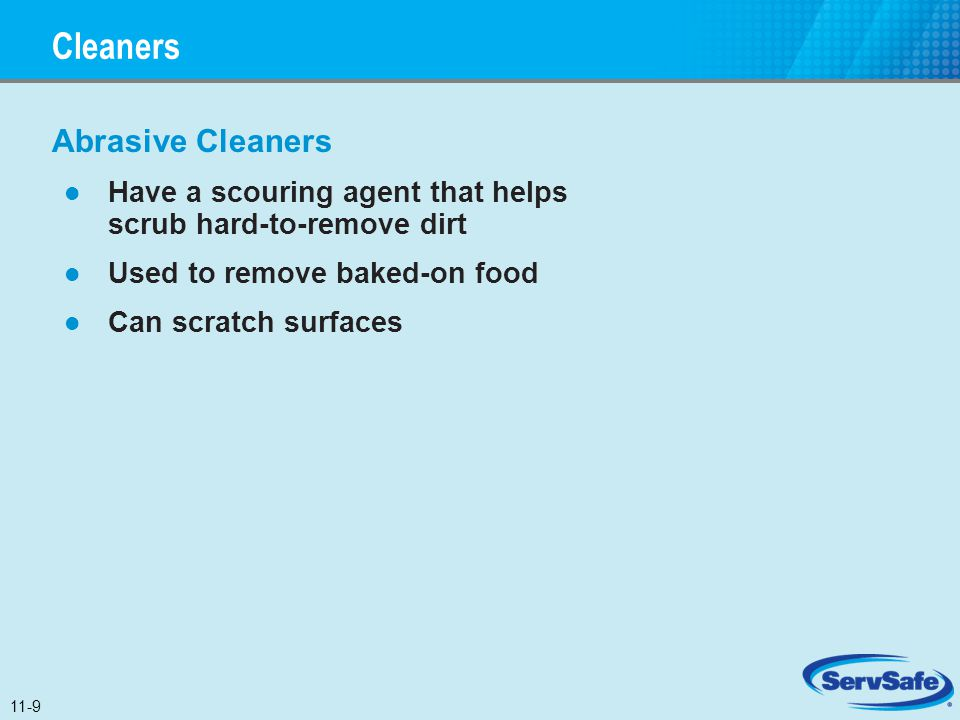 Cleaners Abrasive Cleaners