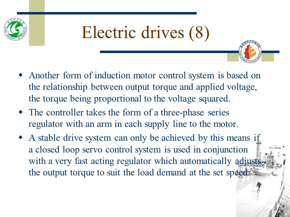 Electric drives (8)
