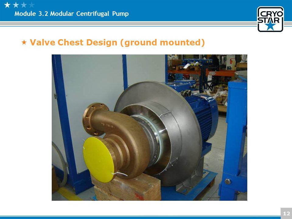 Valve Chest Design (ground mounted)
