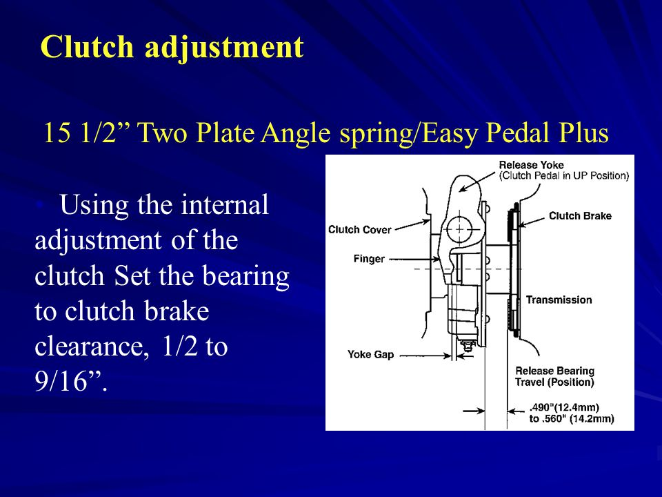 15 1/2 Two Plate Angle spring/Easy Pedal Plus