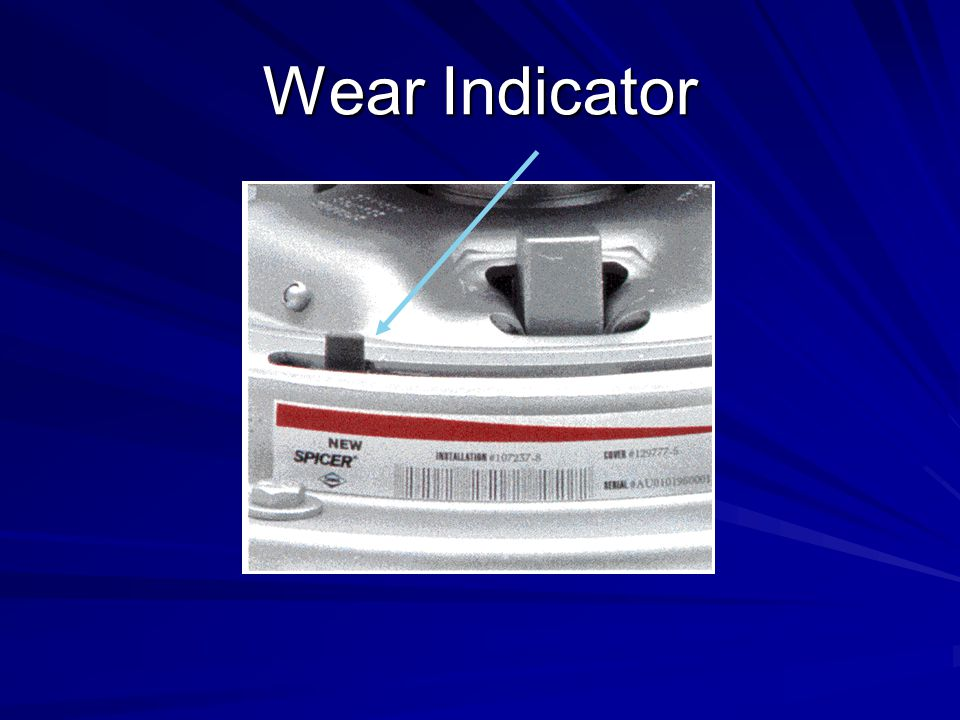 Wear Indicator