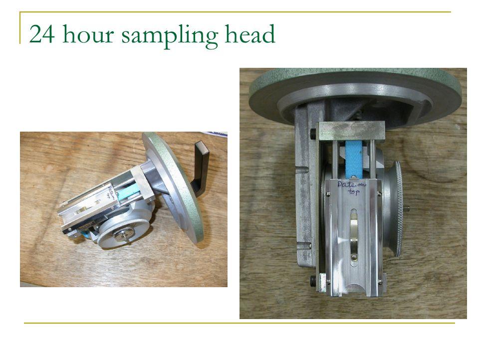 24 hour sampling head