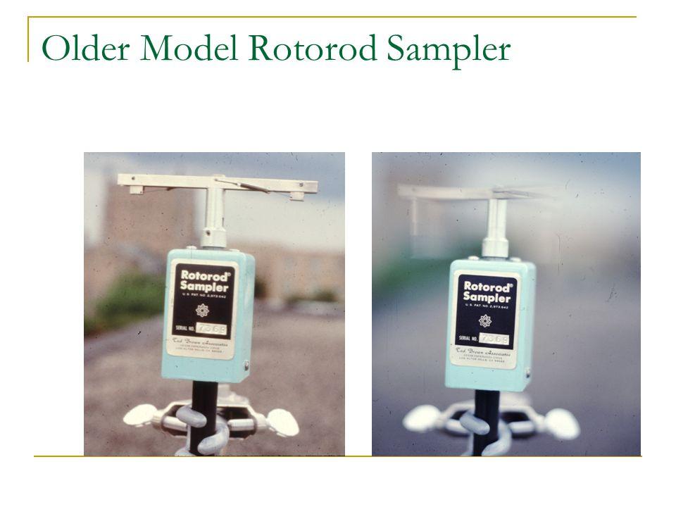 Older Model Rotorod Sampler
