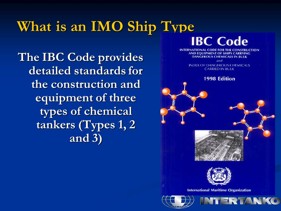 What is an IMO Ship Type