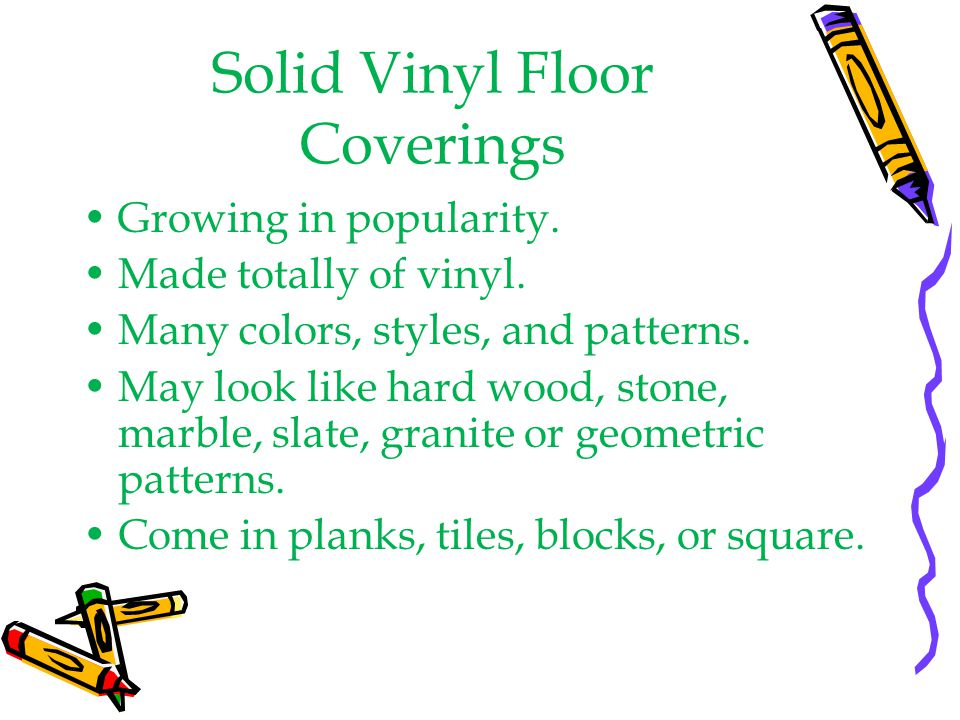 Solid Vinyl Floor Coverings