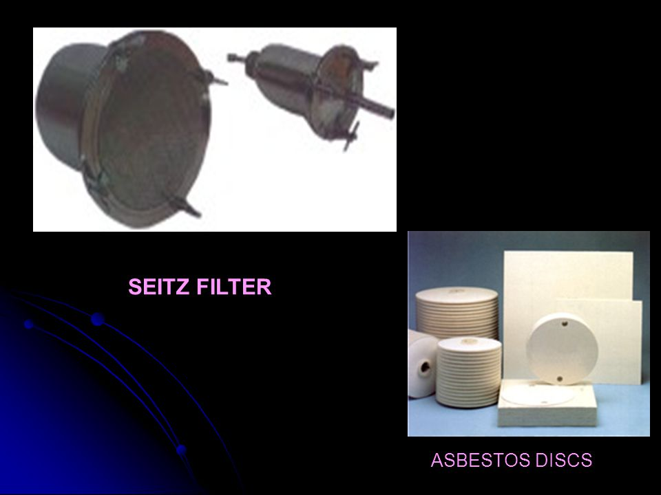 SEITZ FILTER ASBESTOS DISCS