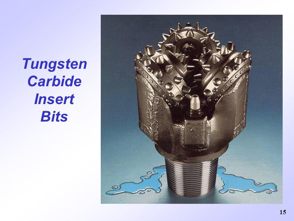 Tungsten Carbide Insert Bits