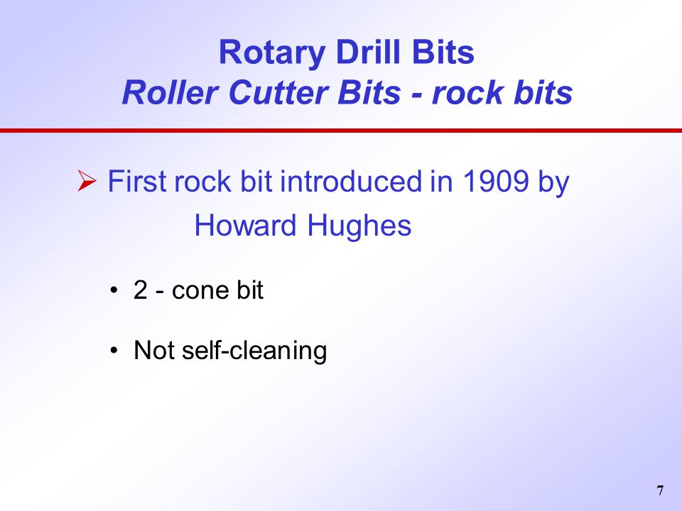 Rotary Drill Bits Roller Cutter Bits - rock bits