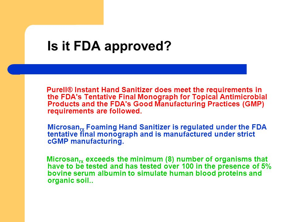 Is it FDA approved