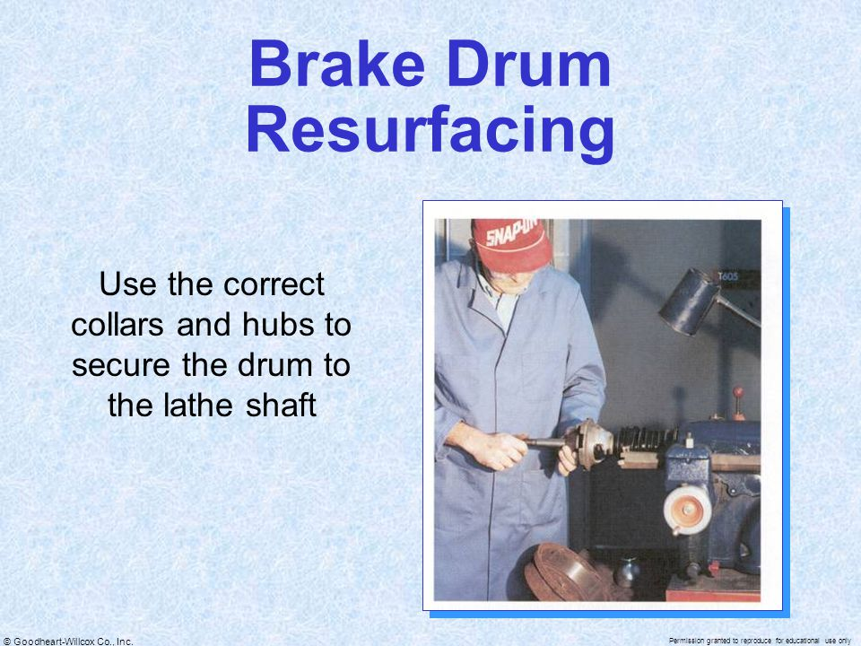 Brake Drum Resurfacing
