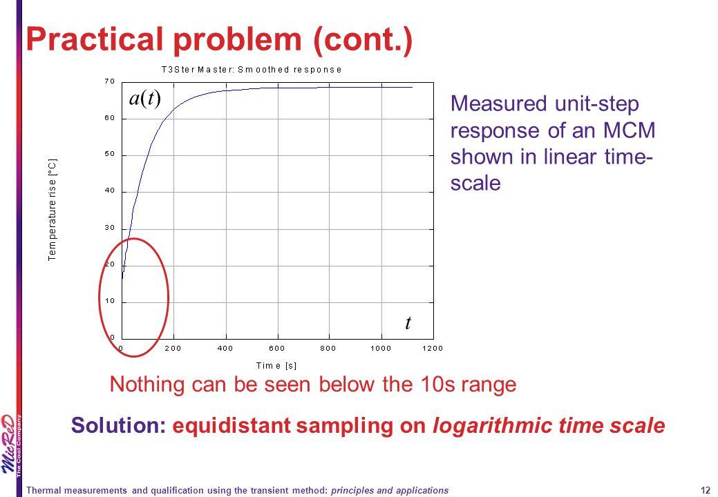 Practical problem (cont.)