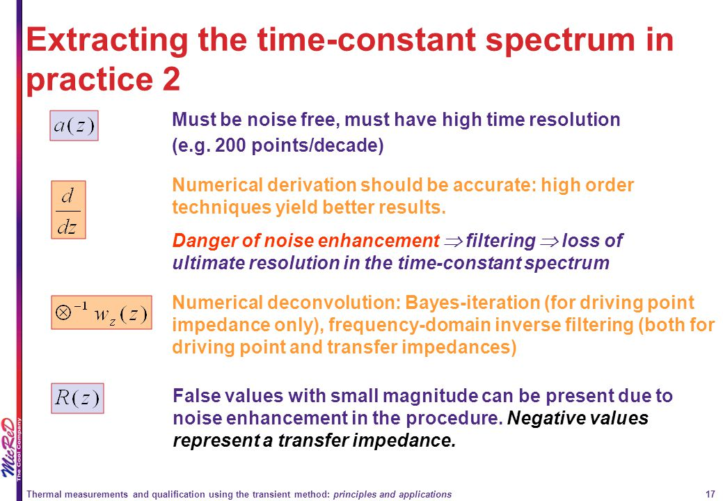 Extracting the time-constant spectrum in practice 2