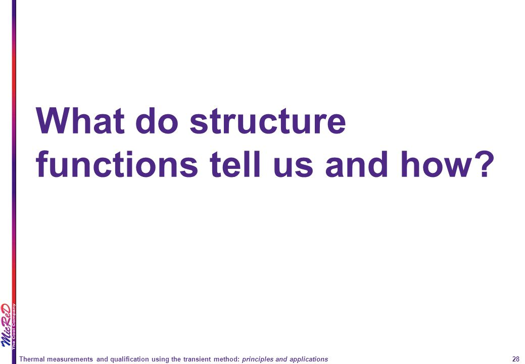 What do structure functions tell us and how