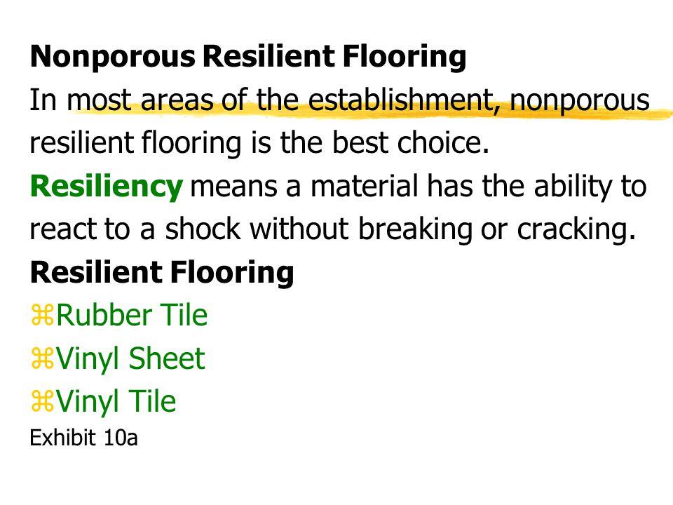 Nonporous Resilient Flooring