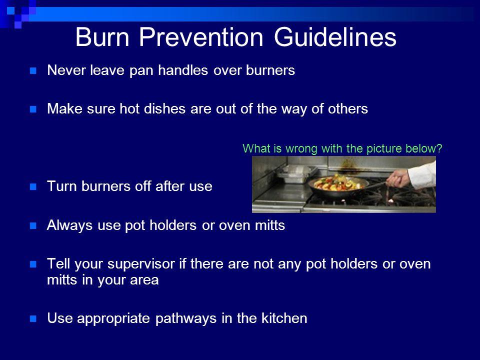 Burn Prevention Guidelines