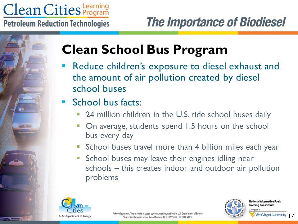 Clean School Bus Program